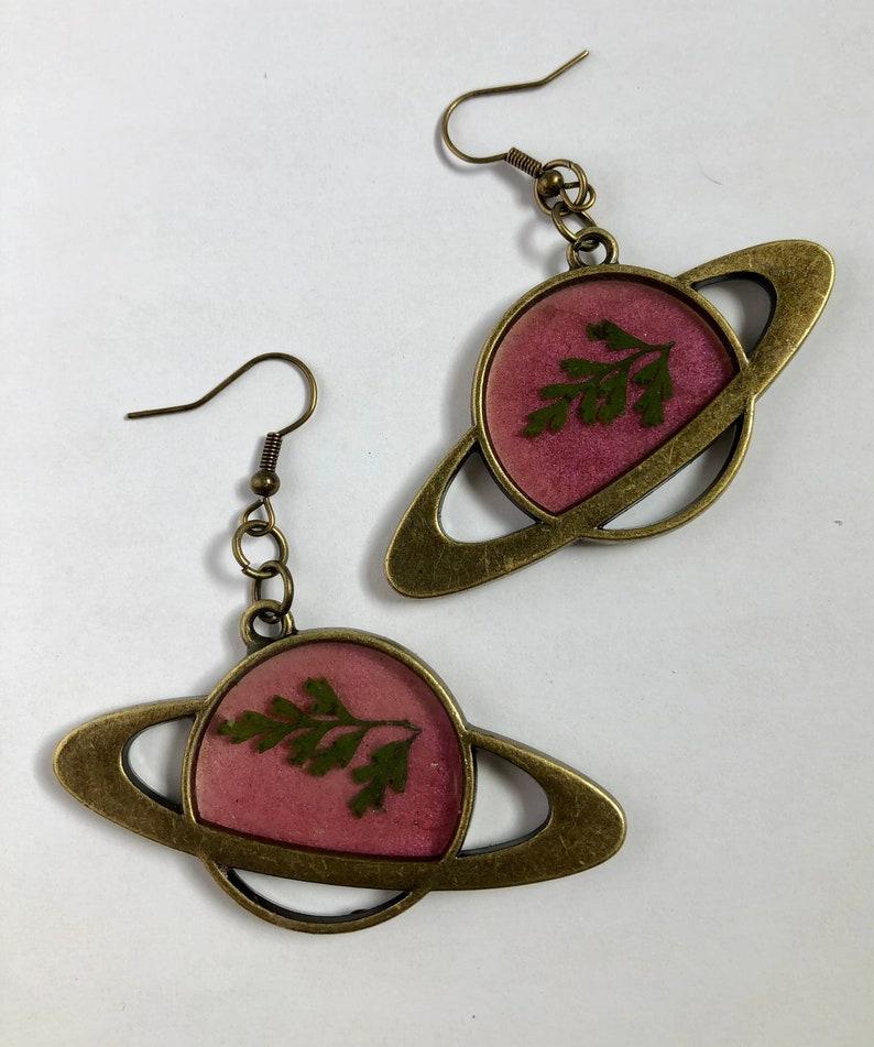 Fern Planet Earrings
