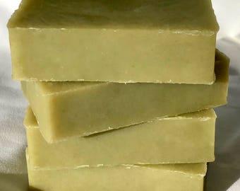 pine forest soap / natural soap / essential oil soap / handmade soap / moisturizing soap / Halifax / bar / artisan soap / cold process soap