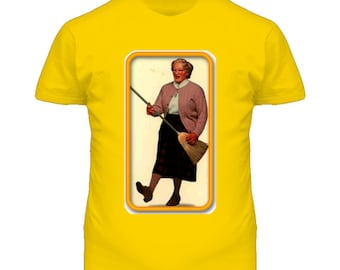 Robin Williams Mrs. Doubtfire Character Tshirt