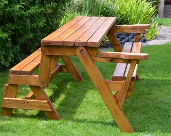 Folding Picnic Table Bench Plans Patio Furniture