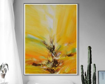 Abstract painting, Large original painting, Hand painted modern abstract oil painting, Contemporary canvas painting,Home decor knife Art