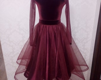 Ballroom Dance Dress Etsy