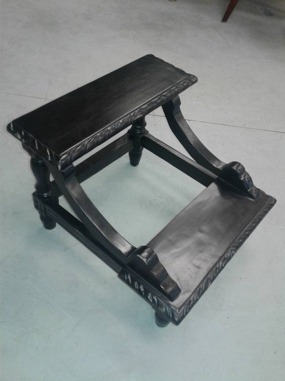 Pleasant Black Step Stool Bed Stool Mahogany Stool Ocoug Best Dining Table And Chair Ideas Images Ocougorg