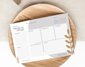 It's a Magical Week - A5 Weekly Planner