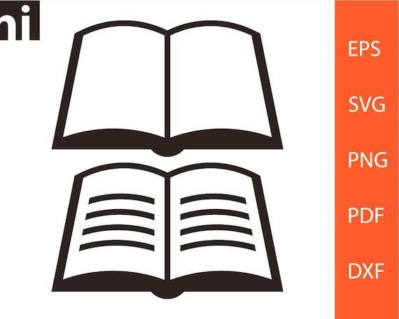 Livre Svg Vecteur Du Livre Livre Clipart Bibliotheque Clipart L Ecole Svg Svg Etudiant Svg Png Dxf Clipart Vecteur Signe Pdf
