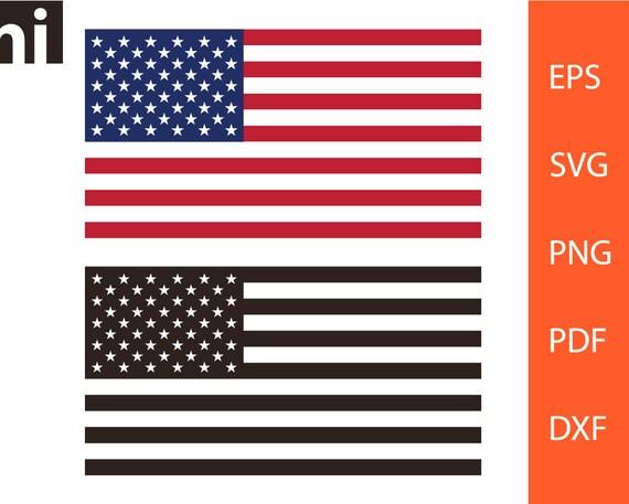 American Flag Svg Usa American Flag 4th Of July American Etsy