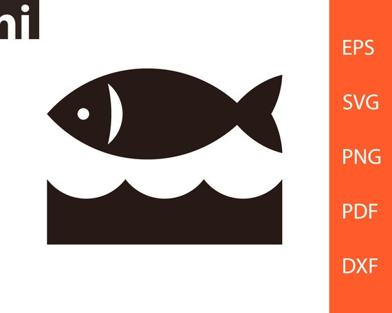 Download Fish Svg Fish Icon Fish Logo Fishing Svg Fish Silhouette Etsy