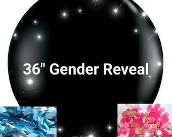 """36"""" Gender Reveal Balloon - Pink or Blue"""