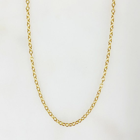 Ready to Wear 14k Gold Filled Cable Chain Necklace