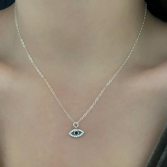 Evil Eye Shimmer Necklace