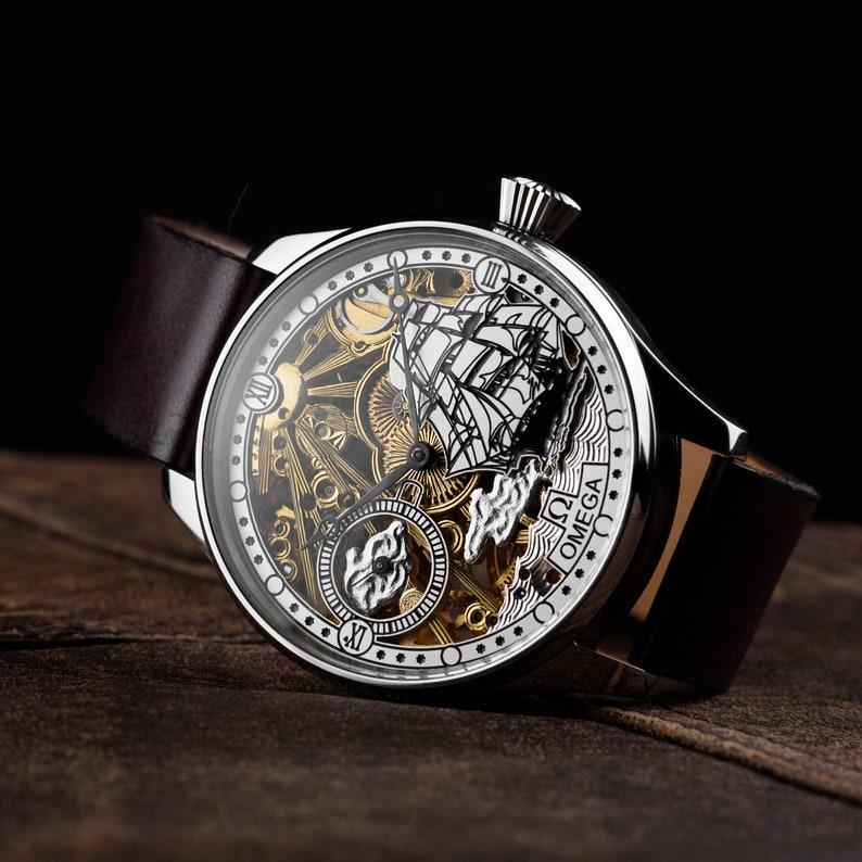 efa081d5511fb Watch for men anniversaryMens vintage watchMens omega