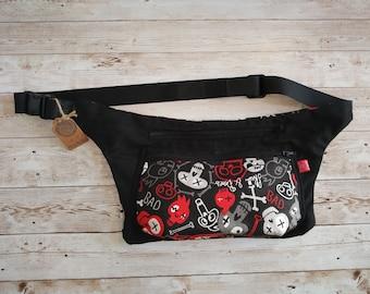 Skulls Fanny pack