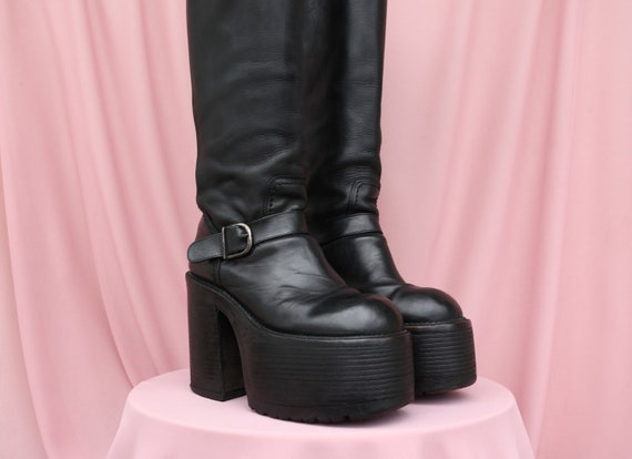 RARE CULT BUFFALO Killer Boots / Platform boots /
