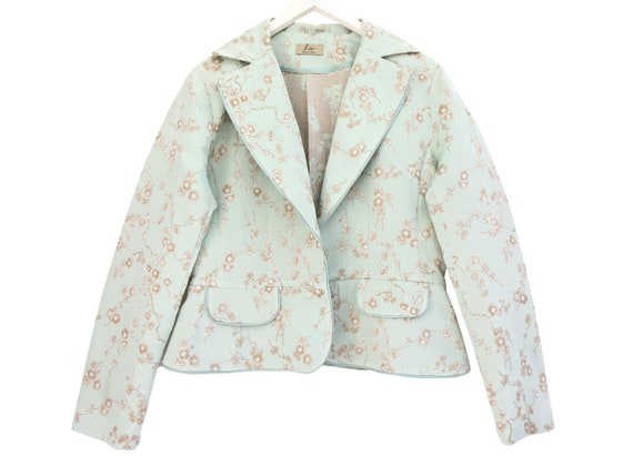 ADORABLE PASTEL colored BLAZER jacket / Light mint