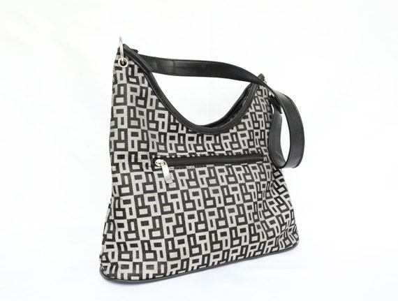90's funky pattern bag / look-a-like fendi bag / s