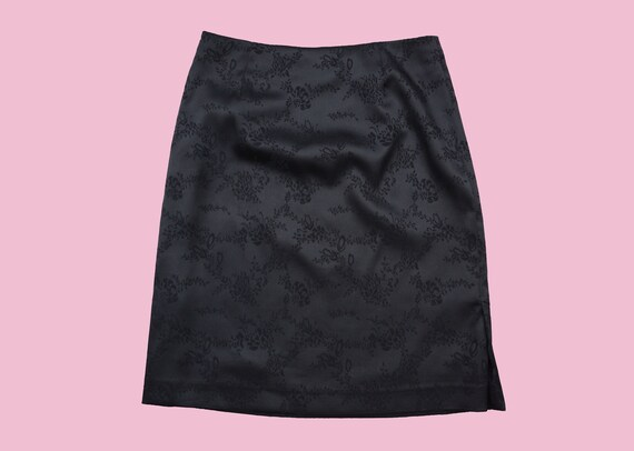 BLACK ASIAN mini SKIRT / Baby girl / 90's / 90s /