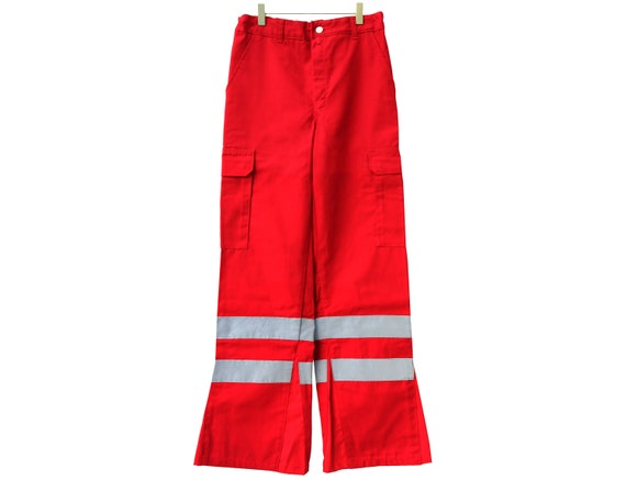 RED WORKWEAR trousers / KLM / industrial / reflect