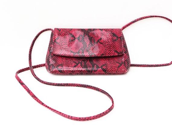 Y2K SNAKESKIN BAG / shoulder bag / petite / y2k /