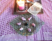Sarah's violet flame Ascension crystal grid