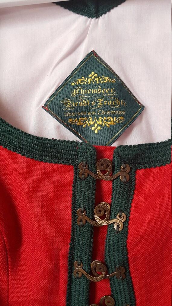 Bavarian Style Traditional Jacket