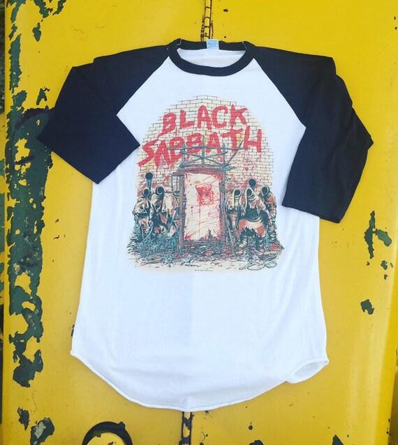 """1981 Black Sabbath """"Mob Rules Tour"""" Raglan"""
