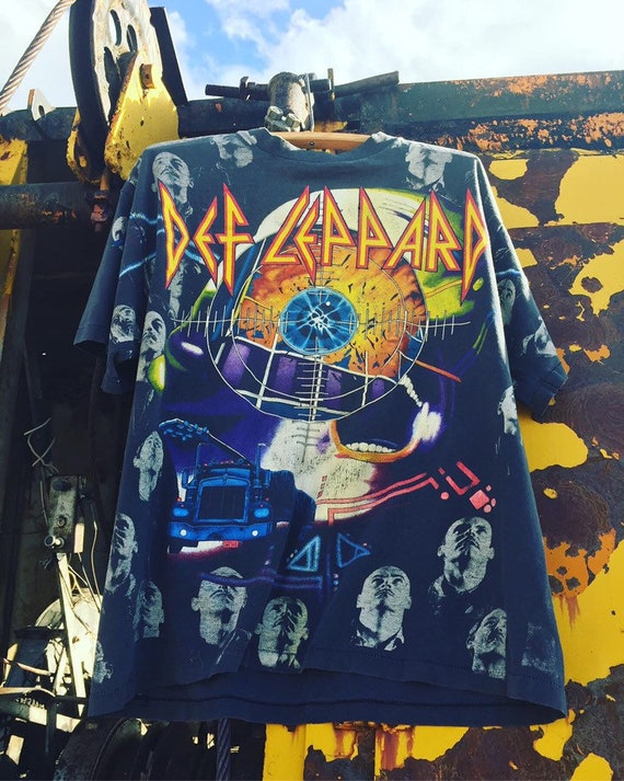 1992 Def Leppard All Over Print