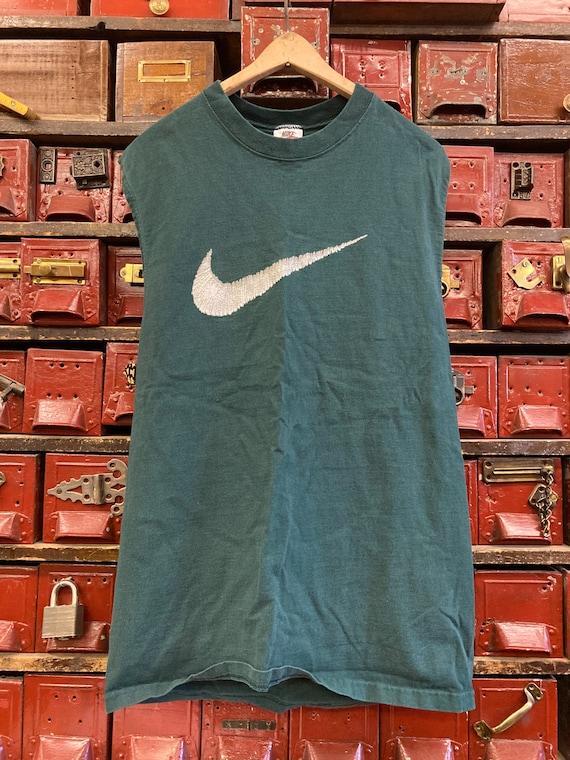 1990's Nike Green Tank-Top