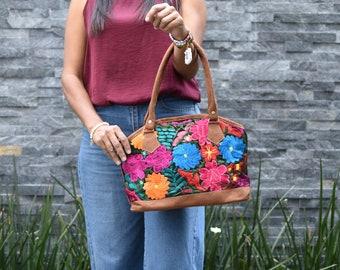 Details about  /Small Colorful Textile Shoulder Bag Pouch from Chiapas Mexico