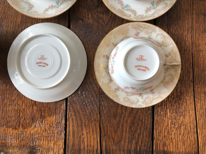 Haviland Limoges tea cups