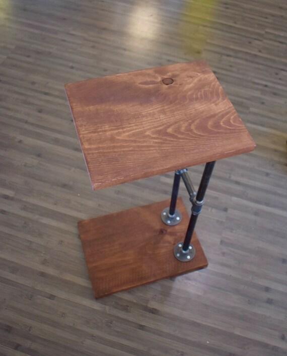 Surprising Industrial Pipe C Table Sofa Table Machost Co Dining Chair Design Ideas Machostcouk