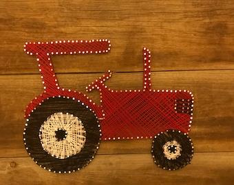 String Art Tractor