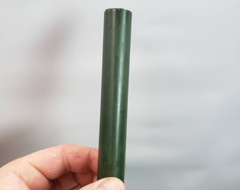 100% Alumilite pen blanks. Dark olive drab.