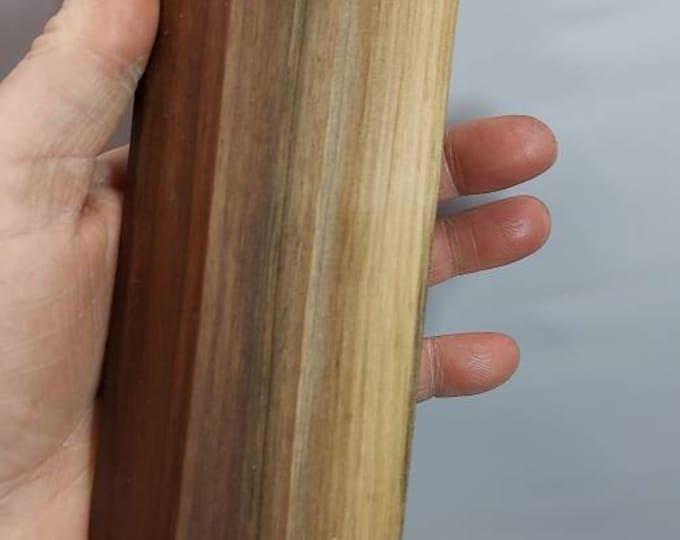 Beautiful stabilized walnut knife block.