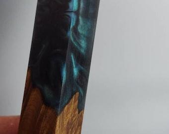 Stabilized maple burl hybrid pen blanks