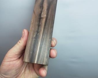 Metallic Chocolate epoxy knife block.