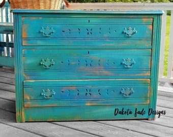 Distressed Dresser | Etsy