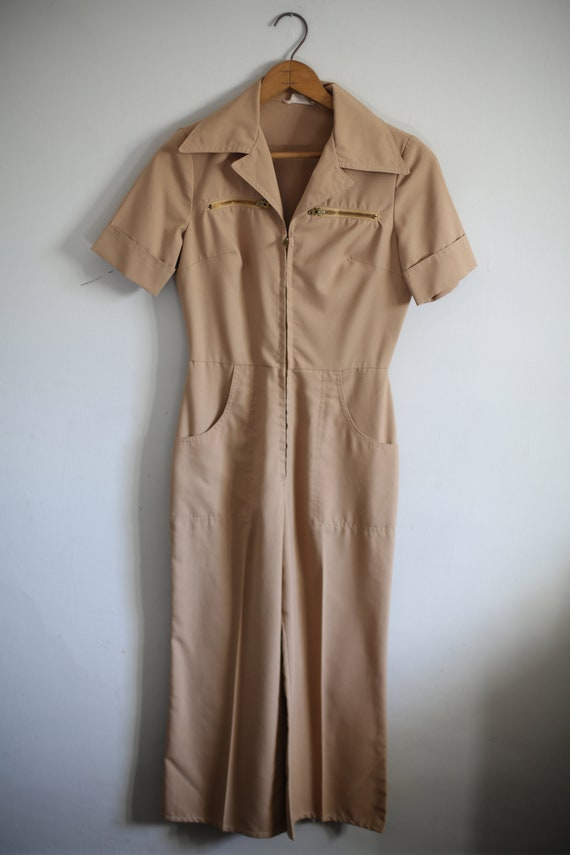 1950s Workwear Jumpsuit