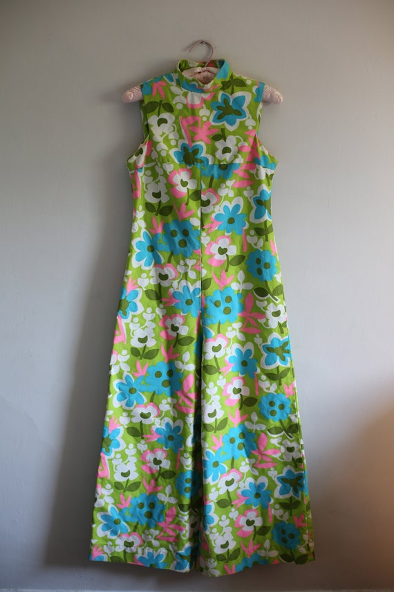 1960s Hawaiian Jumpsuit