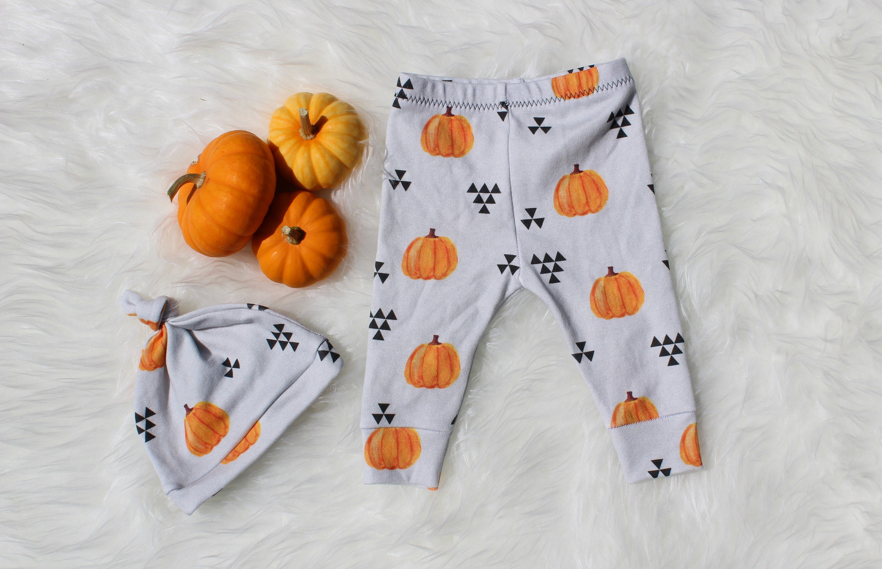 d33ca90647dcc Pumpkin Patch Baby Leggings Fall Kids Pants Gender Neutral | Etsy