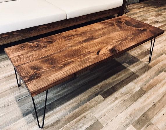 Rustic Coffee Table Coffee Table Farmhouse Coffee Table | Etsy