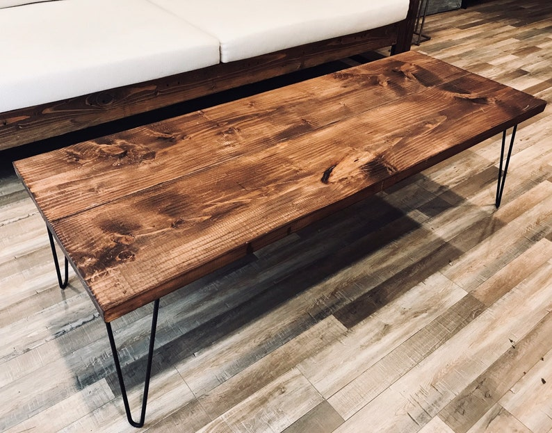 Rustic Coffee Table Coffee Tables Farmhouse Coffee Table Etsy
