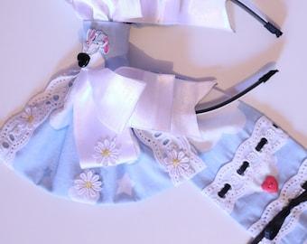 Rockabilly skirt Pastel green skirt Minnie Mouse skirt Fairytale skirt /'/'Sweet Sixteen/'/' 50s style skirt Pink bows Walt Disney skirt