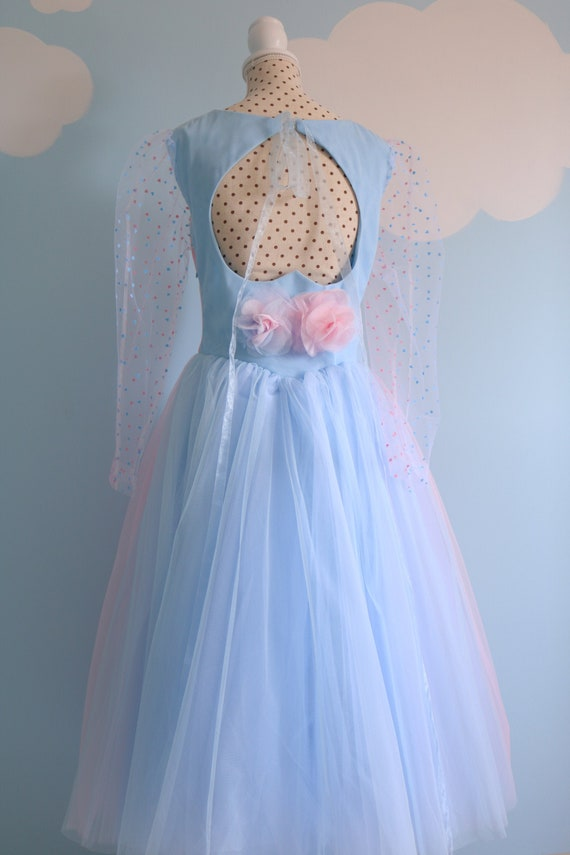 Sleeping Beauty Pink Or Blue Dress Pink Or Blue Princess Prom Etsy