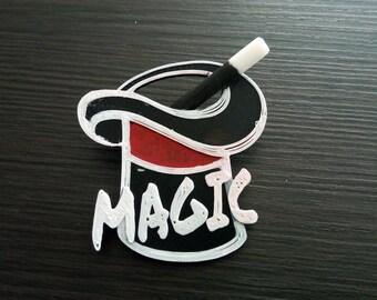 Magic Top Hat Pin Party Favor, Magician Pin