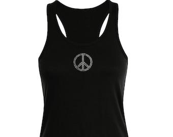 Funny Novelty Vest Singlet Top Palestine Peace