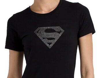 Supergirl Rhinestone T-shirt