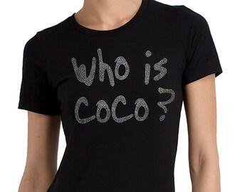 Who is Coco Rhinestone T-shirt