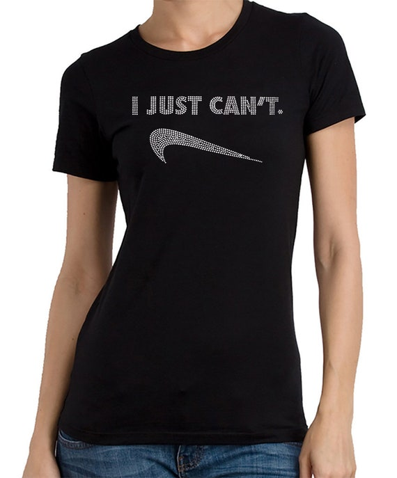 nike shirt i just can't