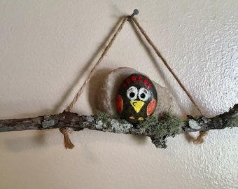 Little Bird on Branch