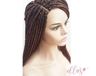 Box Braids Wig Etsy
